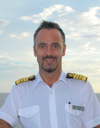 SeaDream Yacht Club Captain, SeaDream Captain, Remi Eriksen