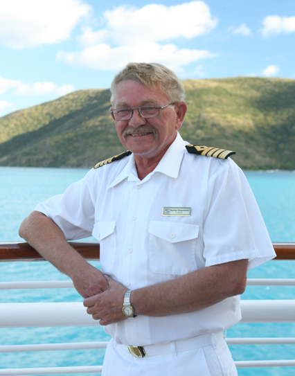 SeaDream Yacht Club Captain, SeaDream Captain, Byarne Smorawski