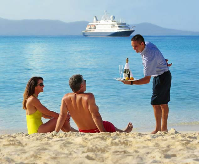SeaDream lifestyle, yachting lifestyle, Service