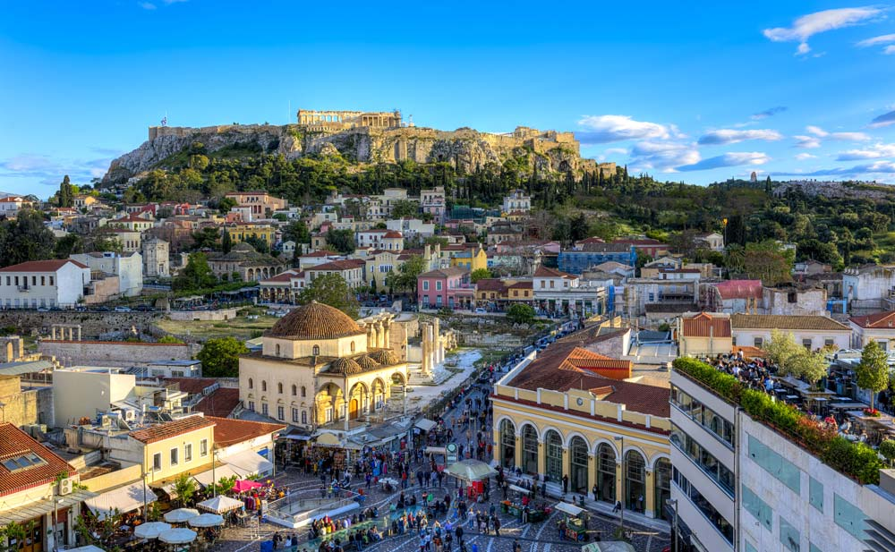 Athens (Piraeus), Greece mediterranean port destinations