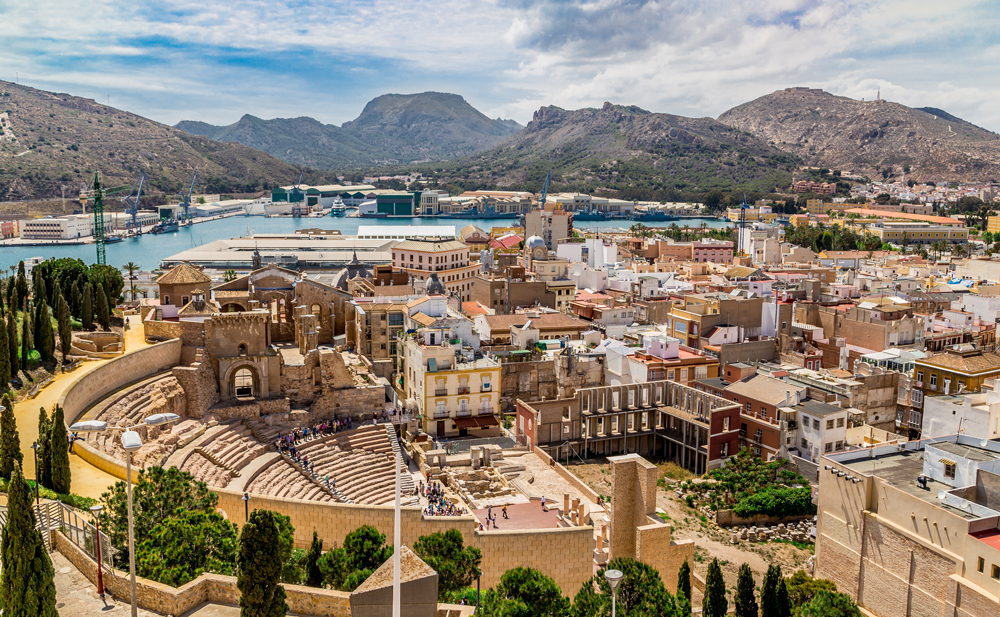 Cartagena, Spain mediterranean port destinations
