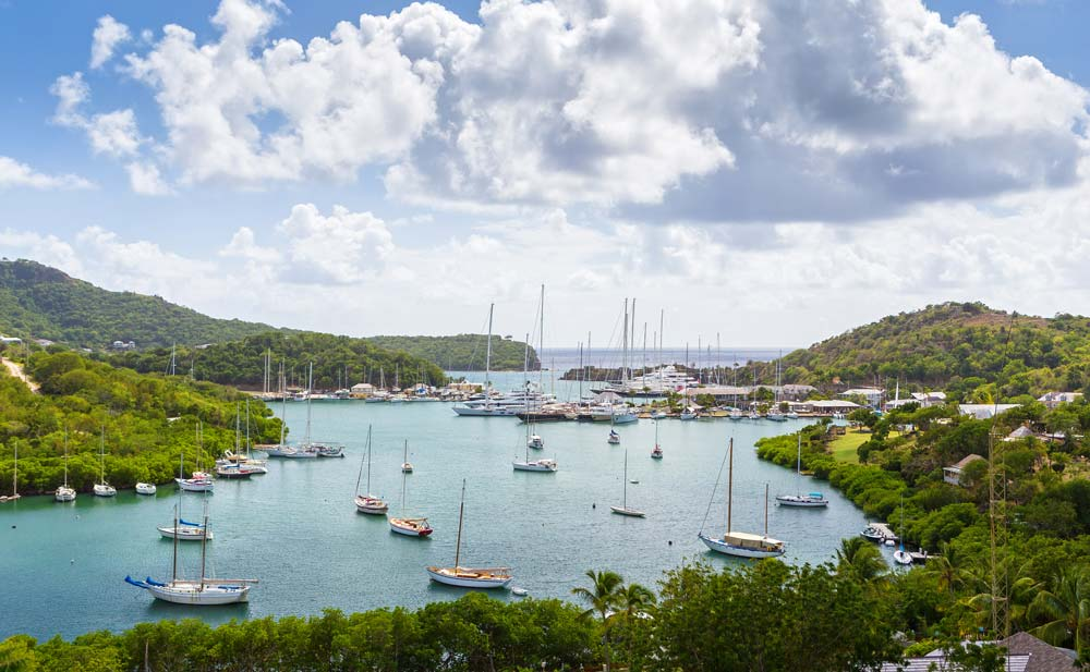 Falmouth Bay, Antigua and Barbuda caribbean port destinations