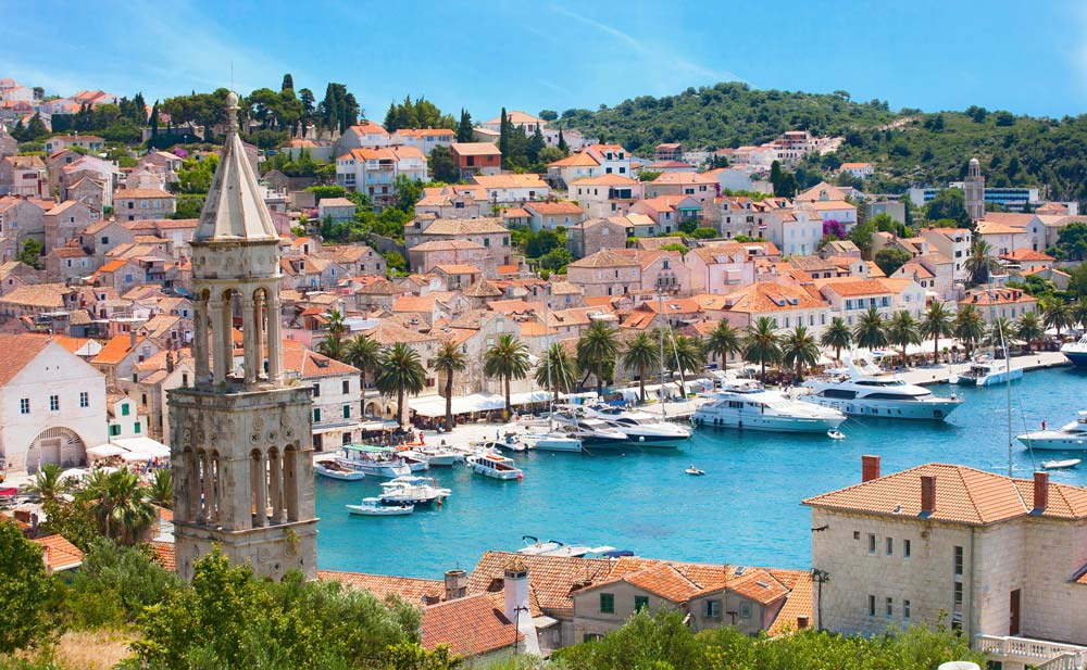 Hvar, Croatia mediterranean port destinations