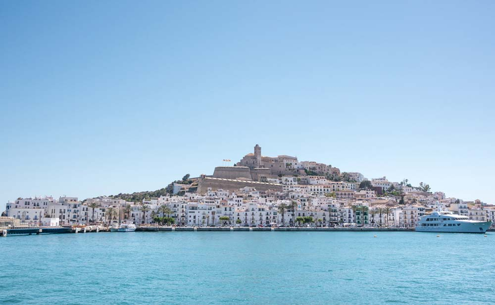Ibiza, Balearic Islands, Spain mediterranean port destinations