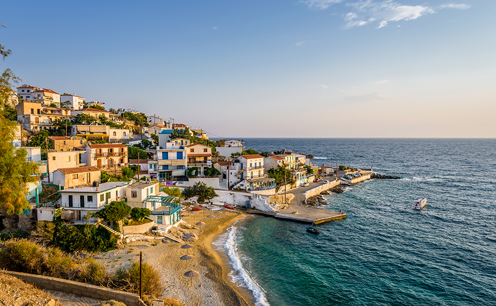 Ikaria, Greece mediterranean port destinations