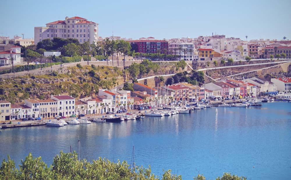 Mahon, Menorca, Balearic Islands, Spain mediterranean port destinations