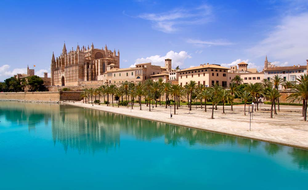 Palma de Mallorca, Balearic Islands, Spain mediterranean port destinations