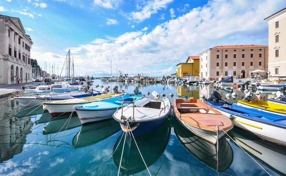 Piran, Slovenia mediterranean port destinations