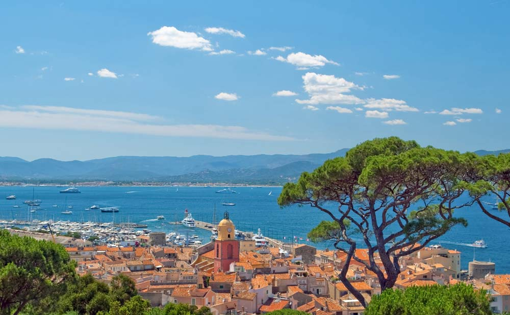 Saint-Tropez, France mediterranean port destinations