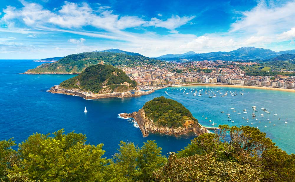San Sebastian, Spain mediterranean port destinations
