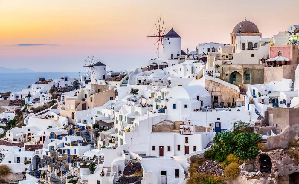 Santorini, Greece mediterranean port destinations