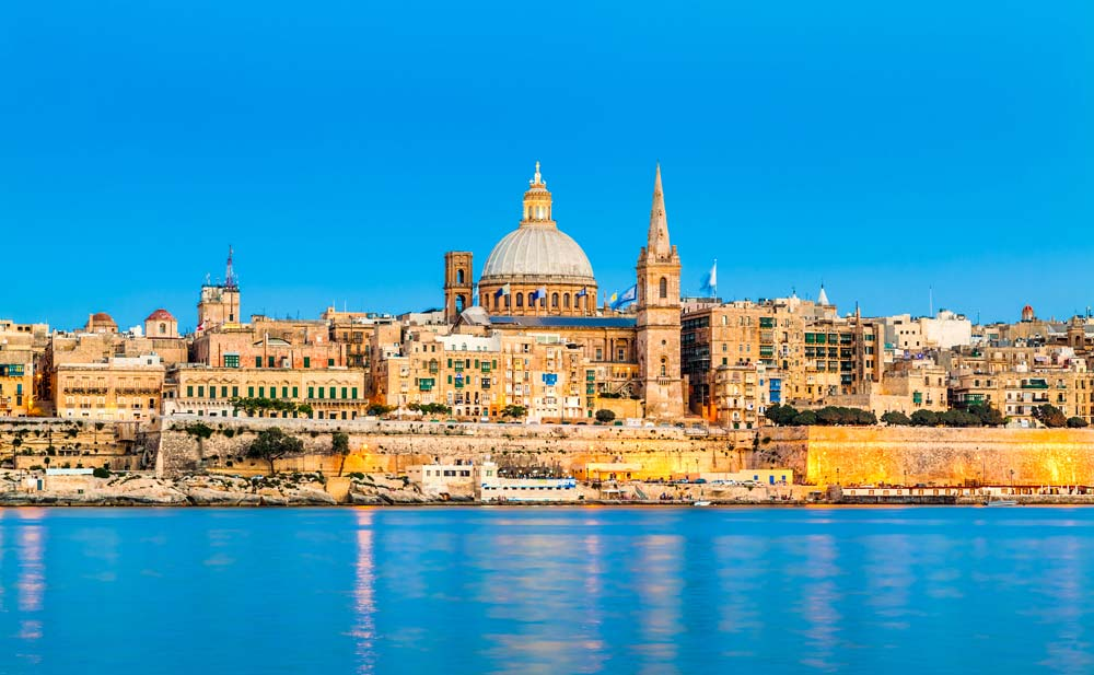 Valletta, Malta mediterranean port destinations