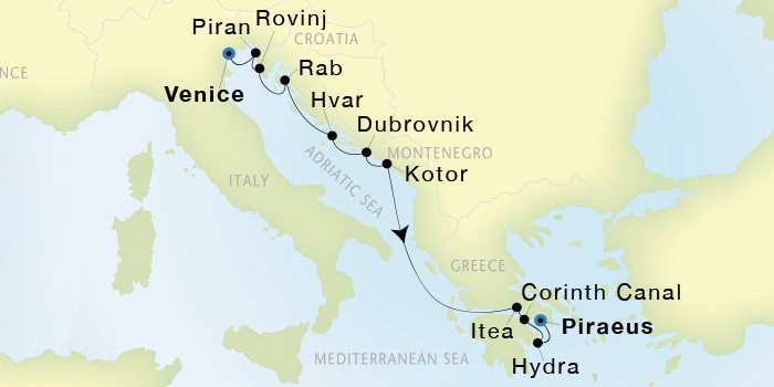 To See Capitol Towering Above Isthmus >> Seadream Yacht Club Venice To Athens Piraeus Seadream I