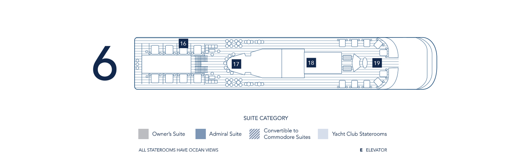 Seadream S Luxury Yacht Deck Plans Location Guide