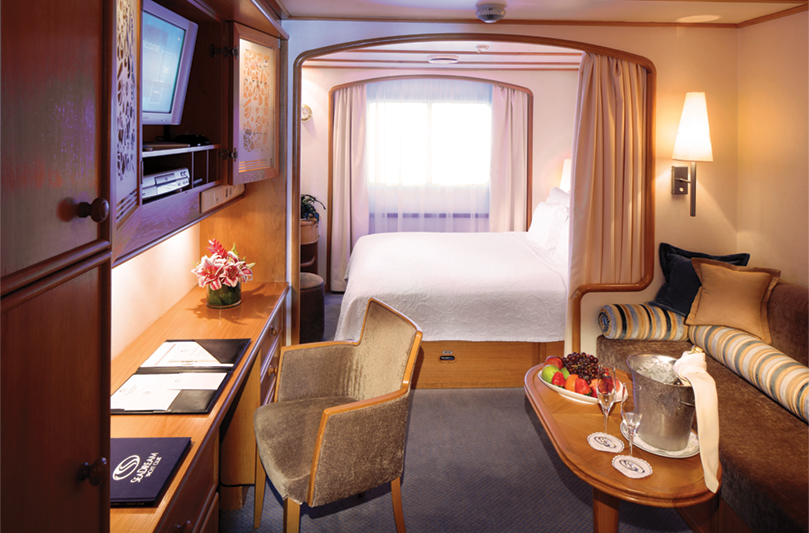 All Seadream Luxury Suites Amp Staterooms Are Ocean View